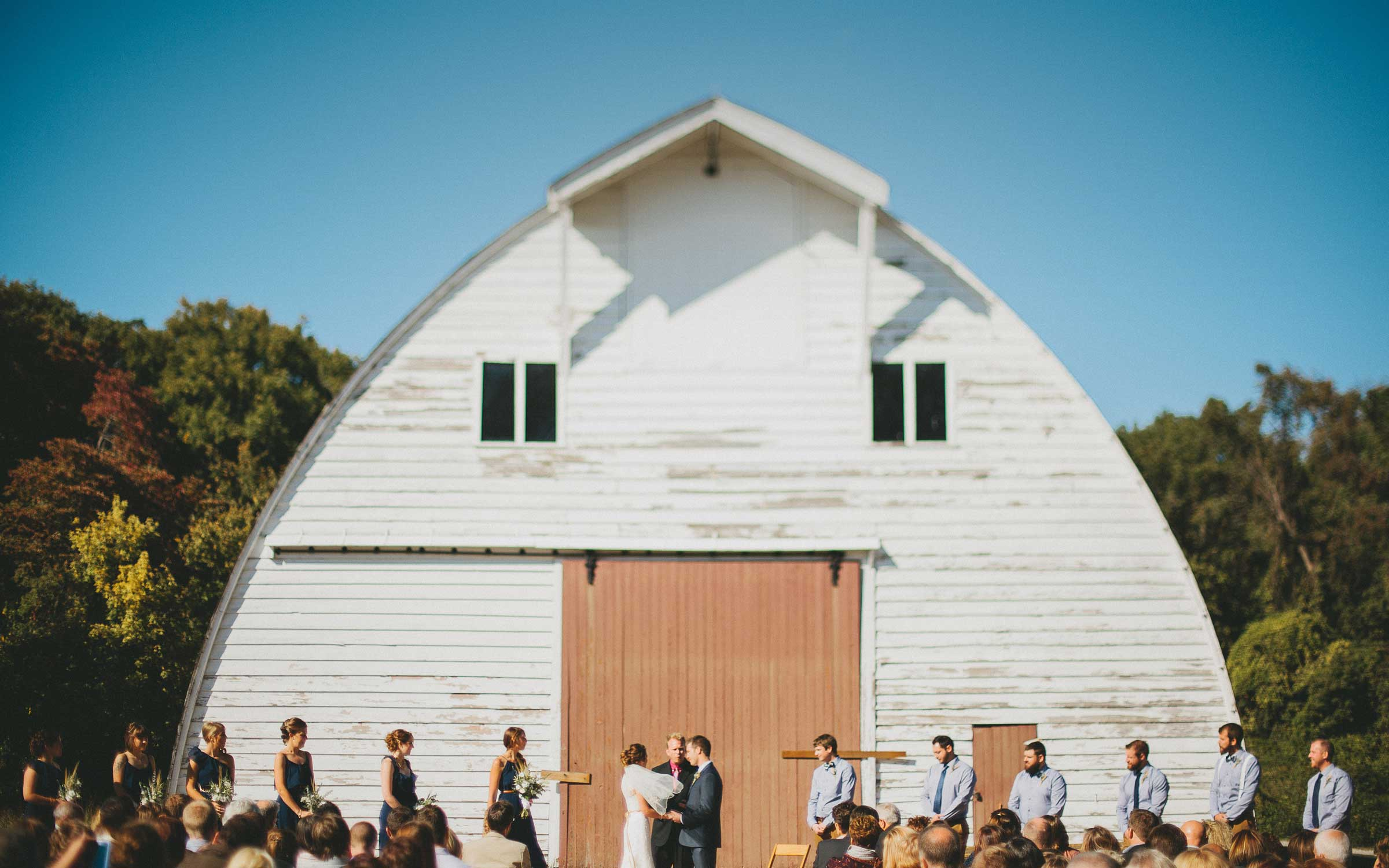 Faust Park Saint Louis Missouri Outdoor Barn Wedding