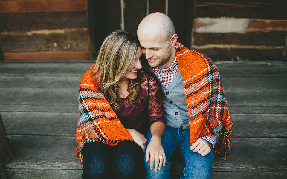 Romantic Cincinnati Engagement