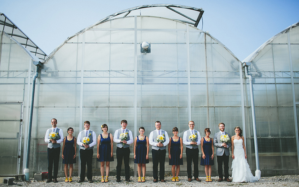 Outdoor Ohio Wedding