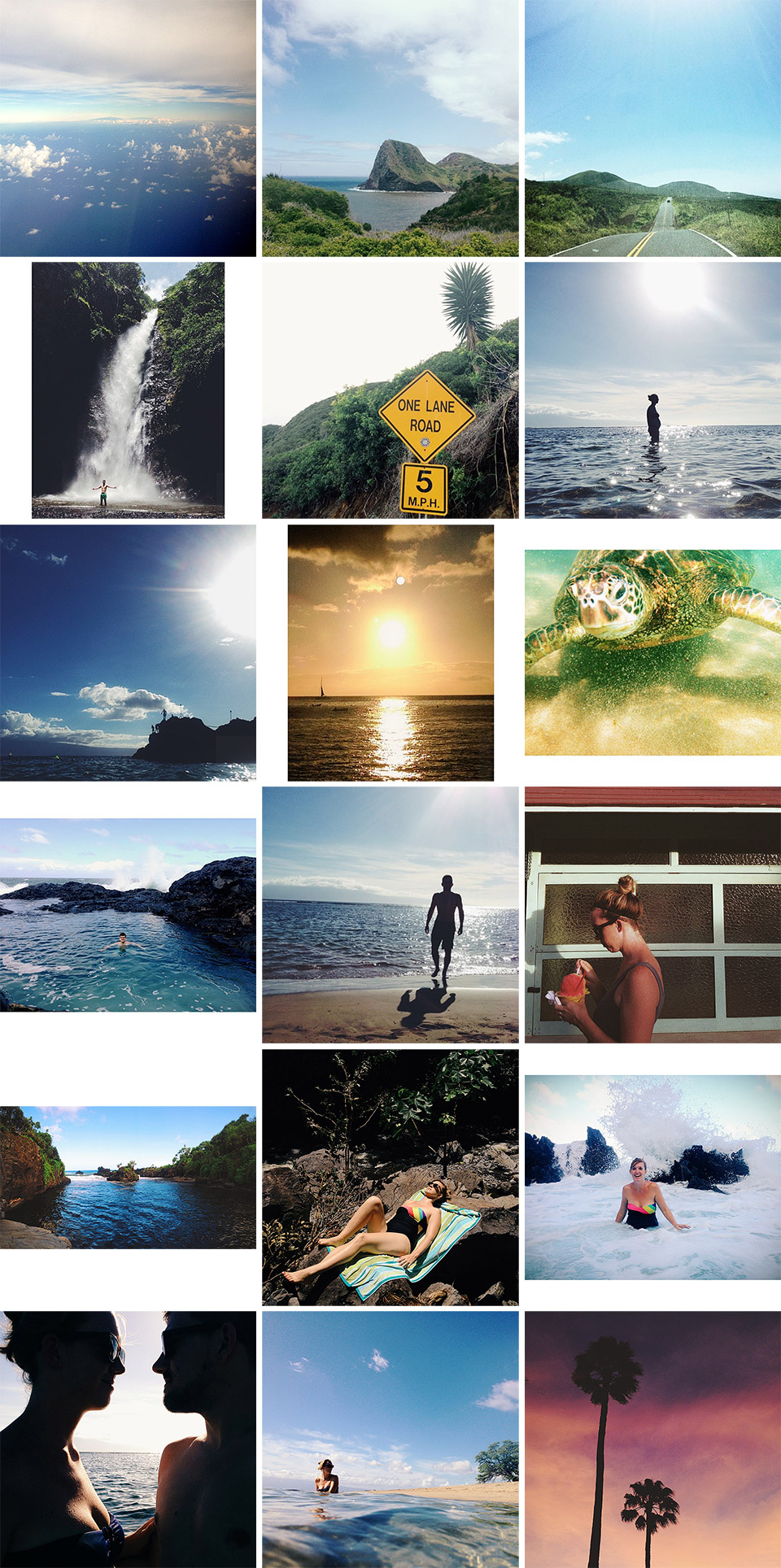 Our Instagram photos from Hawaii